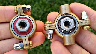 how to make a hand spinner fidget toy easy diy munsen ring hand spinners