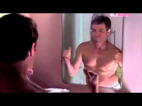 """Hal Dancing in the Mirror """"My belly's full of bacon"""""""