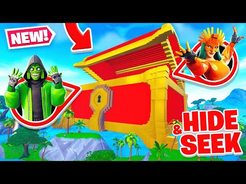 GIANT CHEST Hide And SEEK In Fortnite