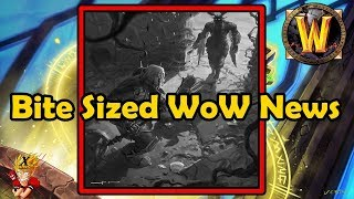 Bite Sized WoW News - BfA Release Date, Novella Previews, Remote AH Removal