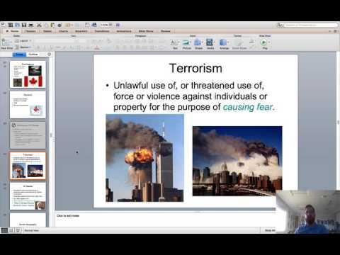 Canada   Terrorism   Social Geo   Urban Sprawl