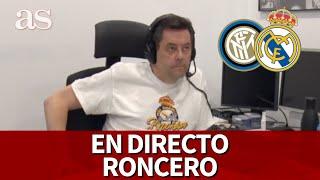 INTER VS REAL MADRID| EN DIRECTO RONCERO I Diario AS