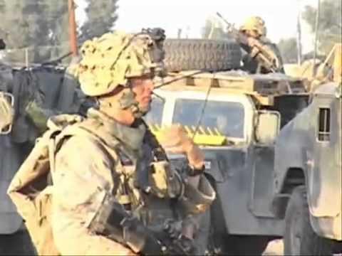 3rd Battalion 1st Marines In Fallujah Iraq