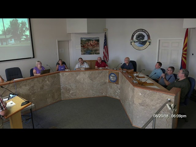 CITY OF COTTONWOOD PLANNING & ZONING COMMISSION August 20 2018