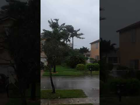Hurricane Irma from Pembroke pines, FL(1)