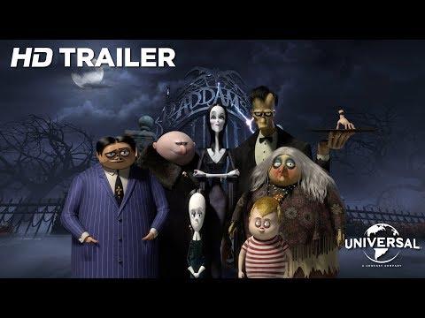 DIE ADDAMS FAMILY Offizieller Trailer [HD]