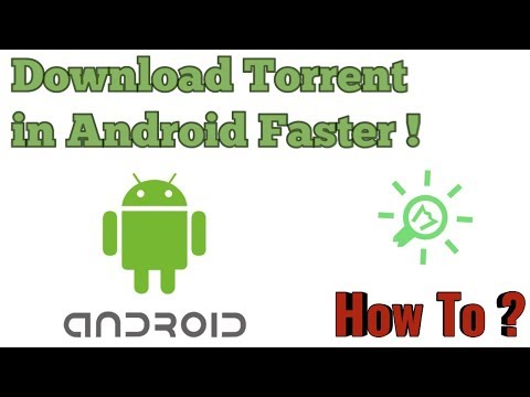 How to download Torrent file in Android...