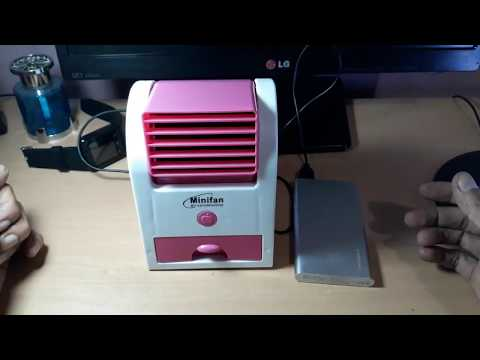 Review Minifan Air Conditioning, AC Mini, Kipas Angin Mini