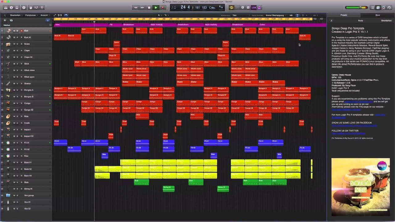Logic Pro X - Reversing Audio - YouTube