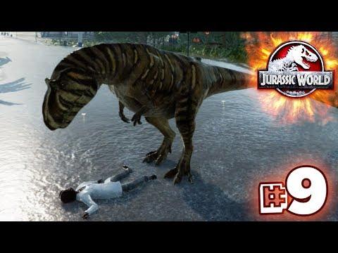 GIGAS ENTER THE PARK!!! - Jurassic World Evolution - JURASSIC MODE | Ep9 HD