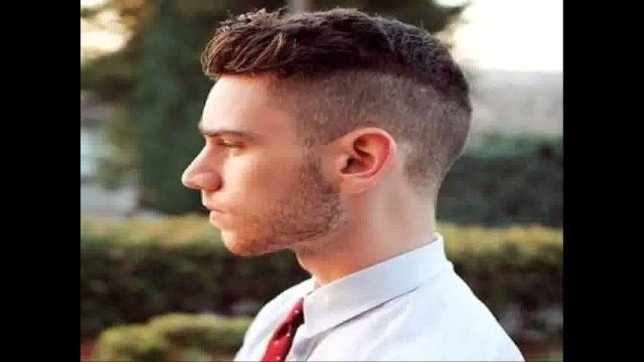 gaya rambut pria untuk kepala bulat - YouTube