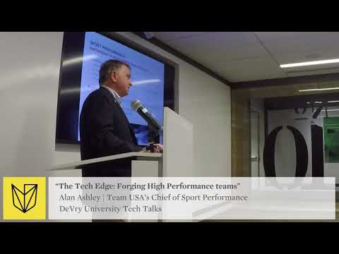 DeVry University Tech Talk: USOC Team USA - Forging High Performance Teams -  Virtual Reality