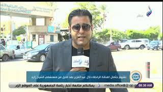 مراسل صدى البلد يكشف تفاصيل تشييع جثمان الفنانة الراحلة دلال عبدالعزيز