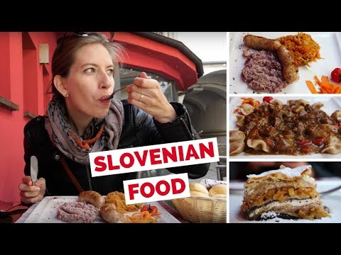 Slovenian Food Review - Trying traditional Slovenian dishes in Ljubljana, Slovenia