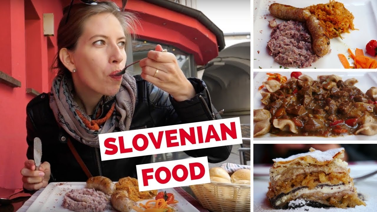 slovenian food review trying traditional slovenian dishes in