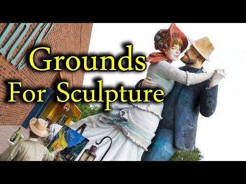 Exploring Grounds for Sculpture in Hamilton, New Jersey