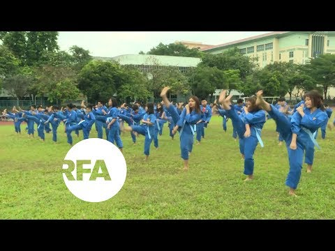 Vietnamese Kick Computer Game Addiction Through Martial Arts | Radio Free Asia (RFA)