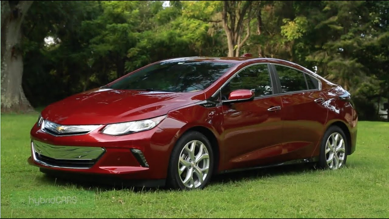 2017 Chevy Volt Review Hybridcars
