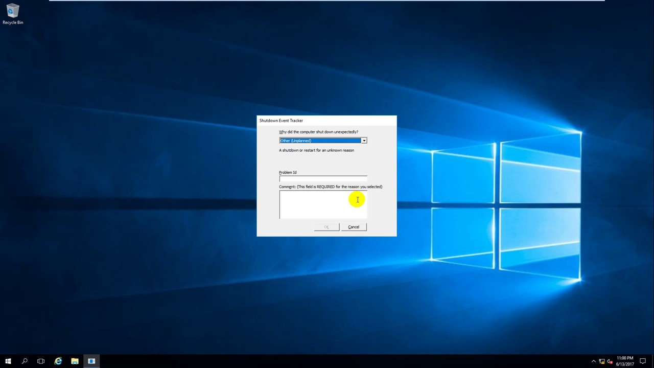 ( Event Viewer ) Event ID 6008 - Operating system shutdown unexpected ( or  Restart unexpected )