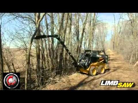 Skid Steer Limb Saw Professional Series From Spartan