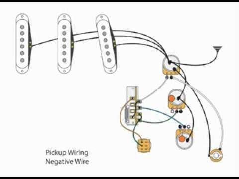 stratocaster wiring diagram mods with Watch on Strat Hss Wiring Diagram additionally Stratocaster Treble Bleed Wiring further Diagram Of Wiring For Squier Strat also Fender Esquire Wiring Diagram further Guitar Wiring.