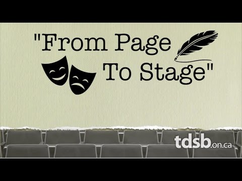From Page to Stage