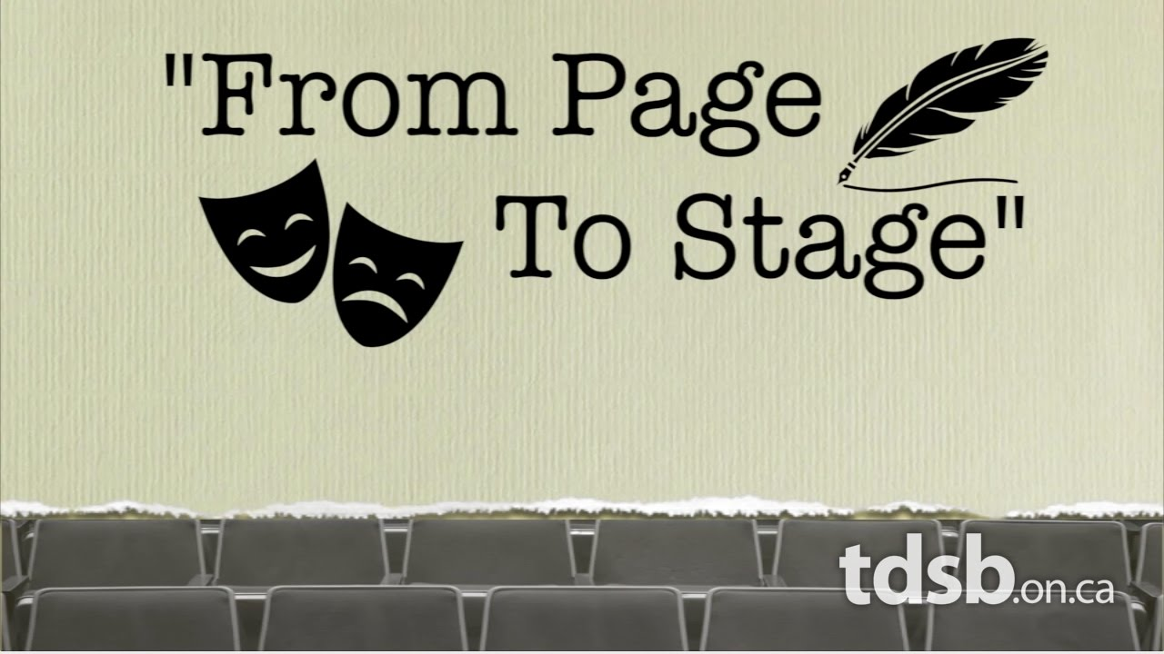 """Image result for From Page to Stage"""""""
