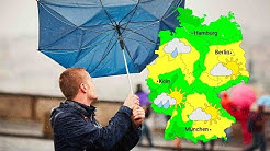 Wetter: Regenfälle und böiger Wind (06.11.2019)