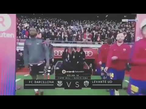 Commentator Ray Hudson sings a funny song about Coutinho while Barca's anthem was being played 😂😂