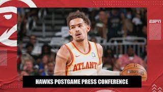 Atlanta Hawks Game 1 ECF Postgame Press Conference | NBA on ESPN