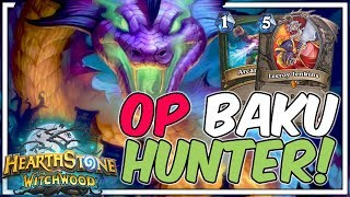 OP BAKU HUNTER! EASIEST AND FASTEST DECK TO CLIMB THE LADDER BY ABUSING THE META