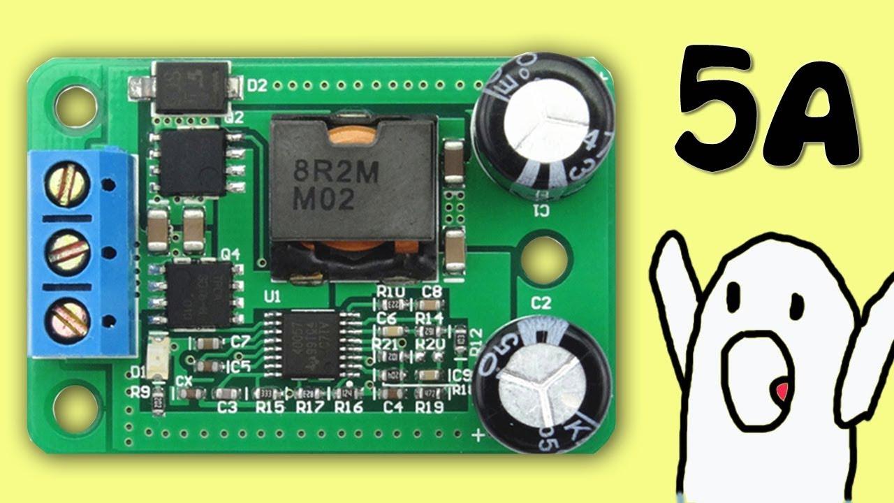 Обзор XL4016 - понижающий dc dc преобразователь с заявленой .
