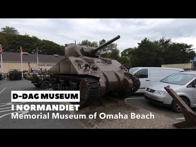 Memorial Museum of Omaha Beach, D-dag i NOrmandiet