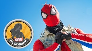 Cosplay Mike Prost becomes Punk Spider-Man - Marvel Becoming