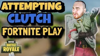LosPollosTv Attempts Clutch Fortnite Play (Gone Wrong?)
