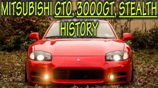 ★Mitsubishi GTO/3000GT/Stealth History : Everything YOU need to know! ★