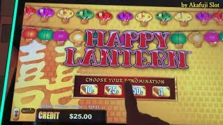 High Limit Lightning Link Happy Lantern Bet $15 on Free Play & High Stakes Slot San Manuel [赤富士スロット]