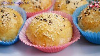 Bánh Bao nướng - Cách làm Xá Xíu / Char siu - Bánh Bao nướng Xá Xíu / Xiu Pao by Vanh Khuyen