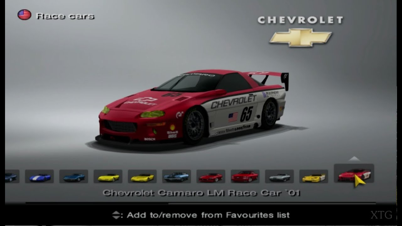 gran turismo 4 chevrolet car list hd ps2 gameplay youtube. Black Bedroom Furniture Sets. Home Design Ideas