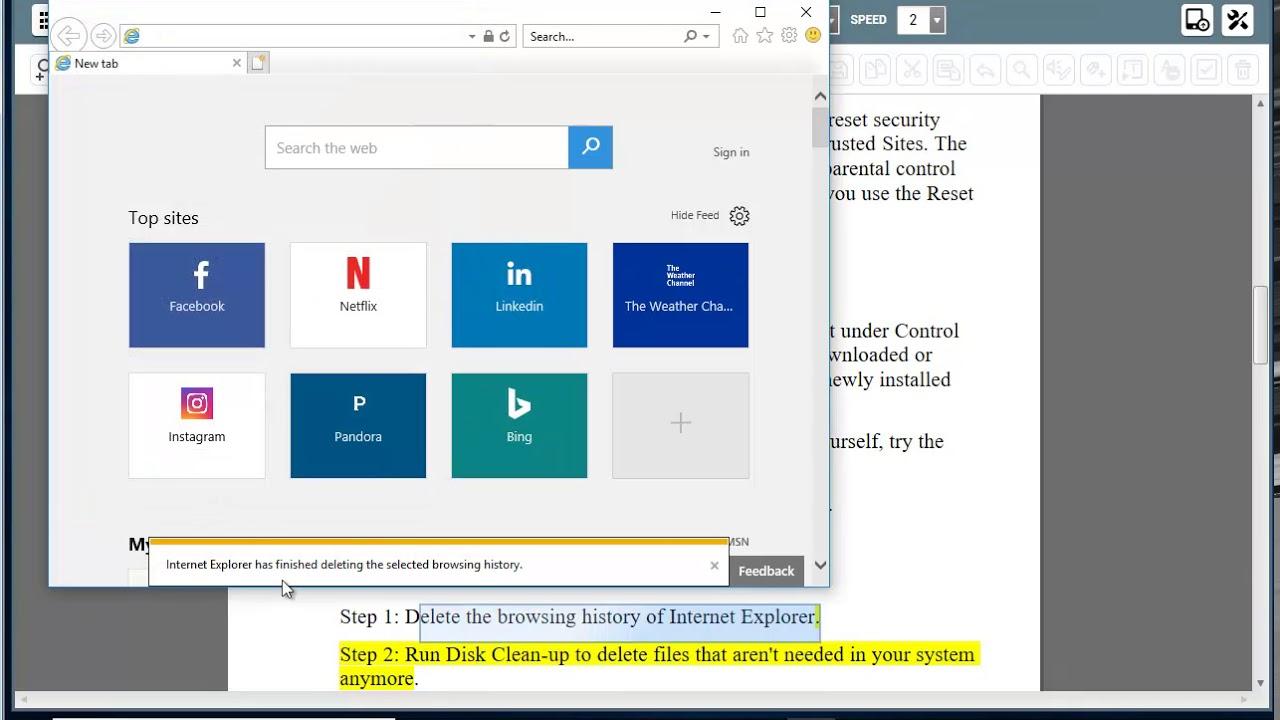 Fix Internet Explorer crashed due to iertutil.dll in Windows 10/8/7