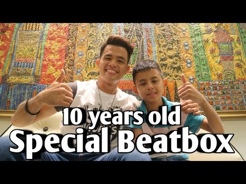 Neil Llanes | Special Beatbox Collaboration with 10 year-old Stephen