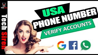 How to get a free USA phone number 2017