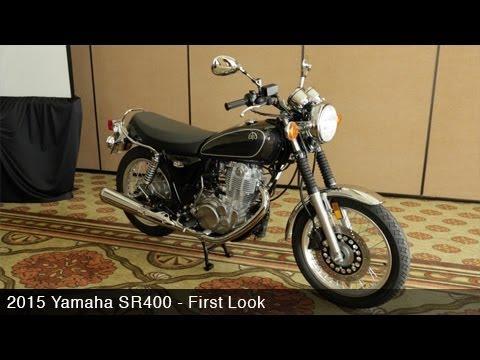 2015 Yamaha SR400 First Look - MotoUSA