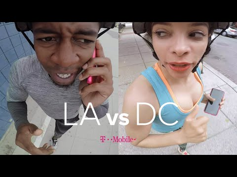 Thumbnail: The GPS Drawing Challenge: LA vs DC // Presented By BuzzFeed & T-Mobile