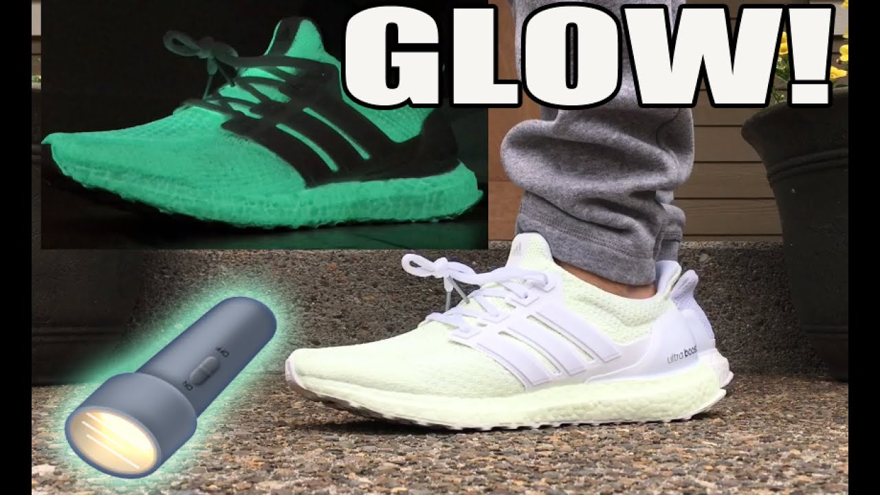info for 4a73b ce976 Glow In The Dark adidas Ultra Boost Custom Tutorial (On Feet   Glow Test)