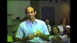 Jack Houck PK Party at 1985 U.S. Psychotronics Association Conference