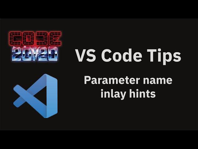 Parameter name inlay hints