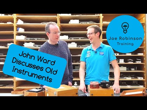 John Ward Discusses Old Testing Instruments Part 1