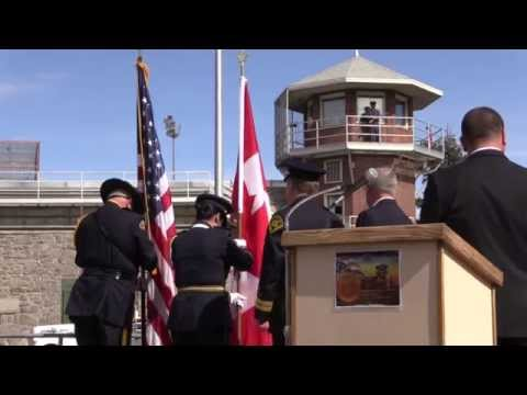 Fallen Corrections Officer Medals Presented at Washington State Penitentiary