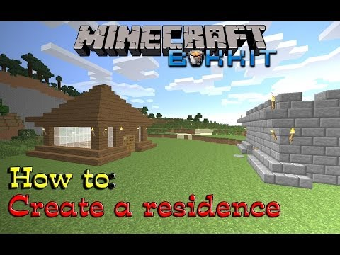Minecraft [Bukkit] - How To: Create A Residence